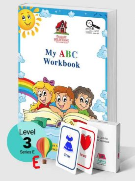 My ABC Workbook + Flash Cards