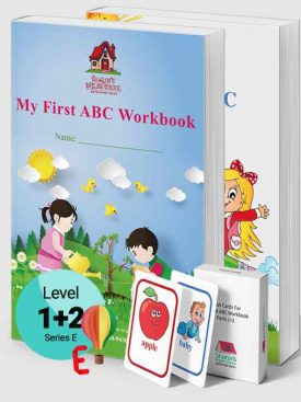 My First ABC Workbook Parts 1+ 2 + Flash Cards